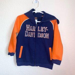 Harley Davidson Boys Full Zip Hoodie